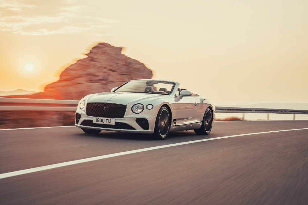 Bentley Continental GT Convertible. Foto: bentleymedia.com