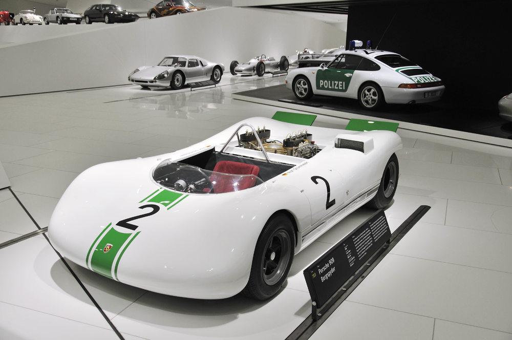 """Modelul 909 Bergspyder din 1968 va rula pe celebra """"Hillclimb"""" din Goodwood, la """"Festivalul vitezei"""" Foto: Porsche"""