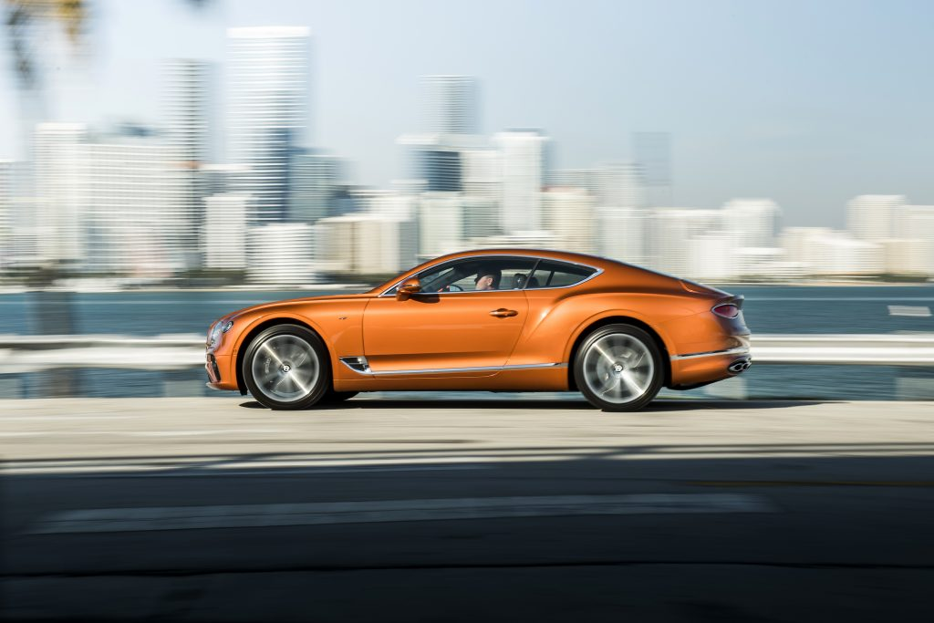 Bentley Continental GT V8 Foto: Bentley