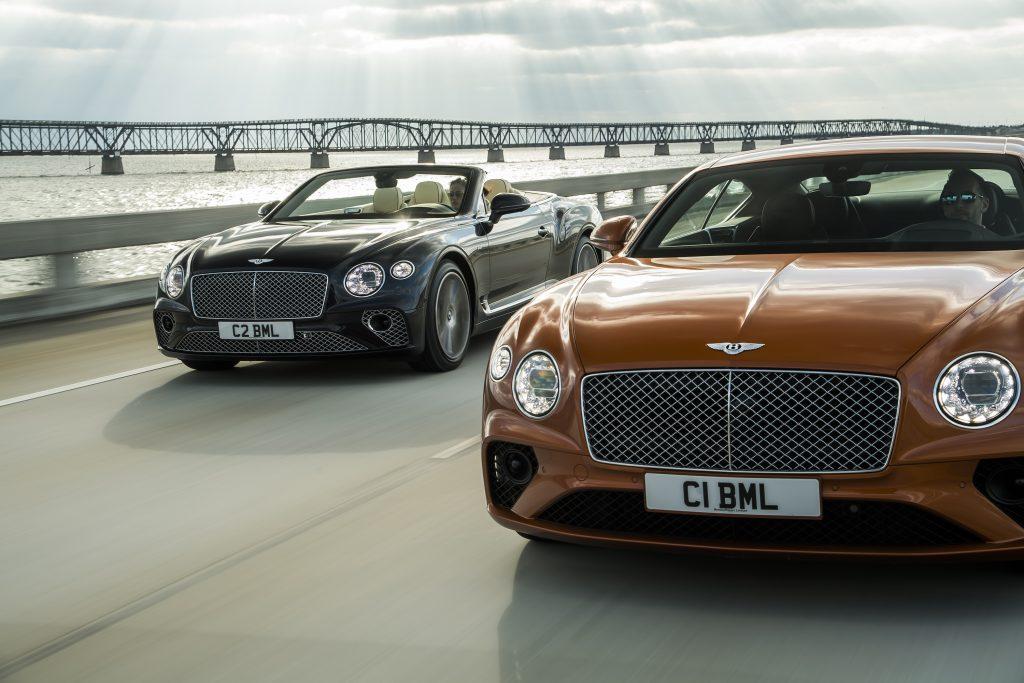 Bentley Continental GT & GT Convertible V8 Foto: Bentley
