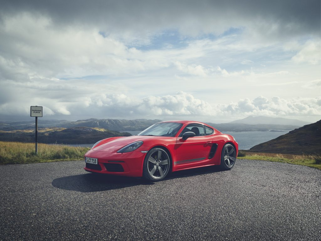 718 Cayman T Foto: Porsche
