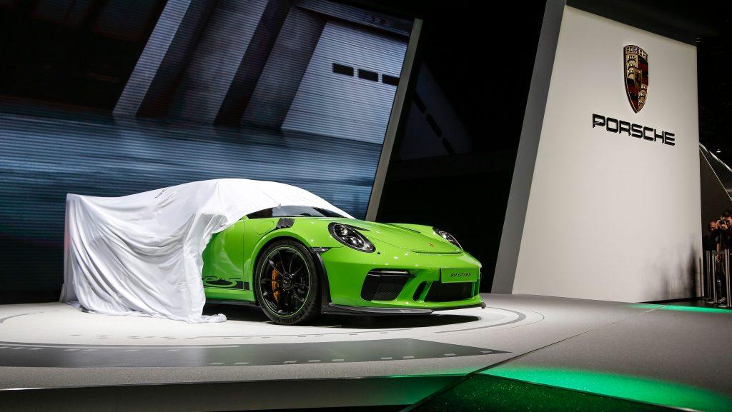 Anul trecut, Porsche a prezentat 911 GT3 RS la Geneva. Foto: Porsche