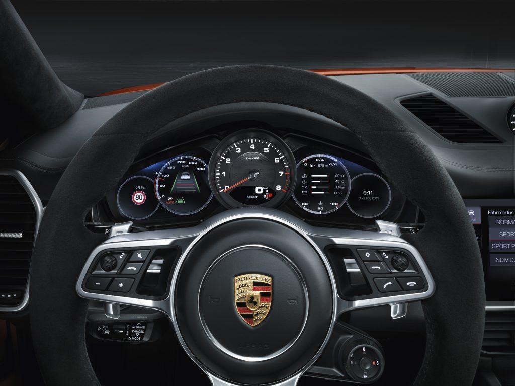 Interior Cayenne Coupé Foto: Porsche