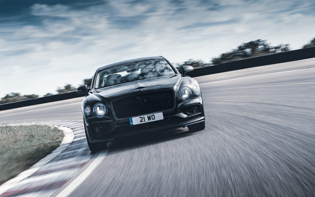 New Bentley Flying Spur Foto: Bentley