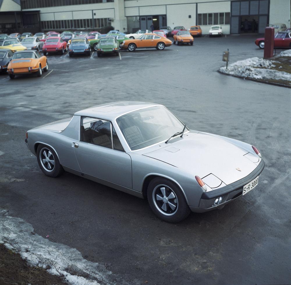 Porsche 914/8 model year 1969 in Plant 2 Foto: Porsche