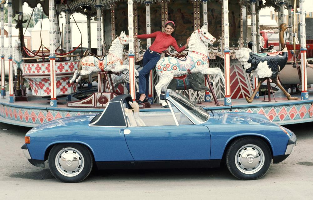 Porsche 914/4 model 1970/71 Foto: Porsche