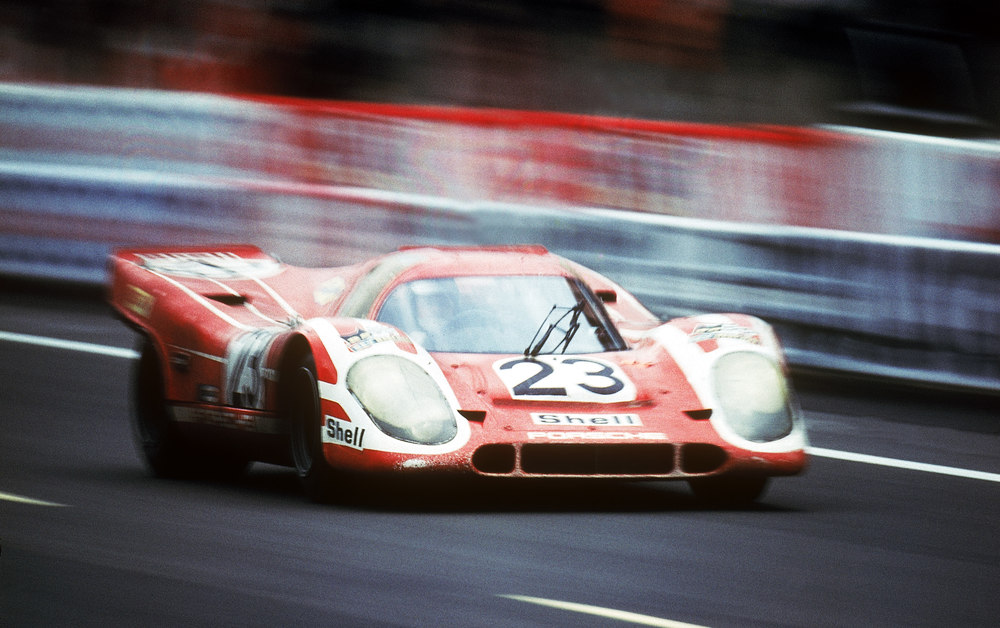 The first victory at LeMans: The Porsche 917 KH in 1970. The original car will be part of the special exhibition. Foto: Porsche