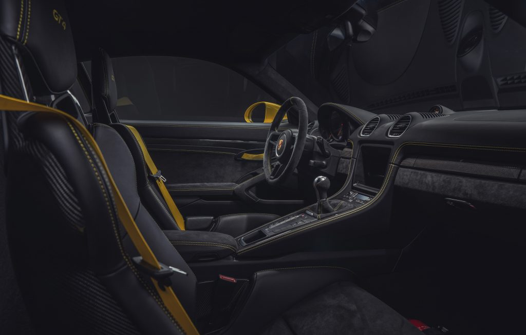 718 Cayman GT4 Foto: Porsche