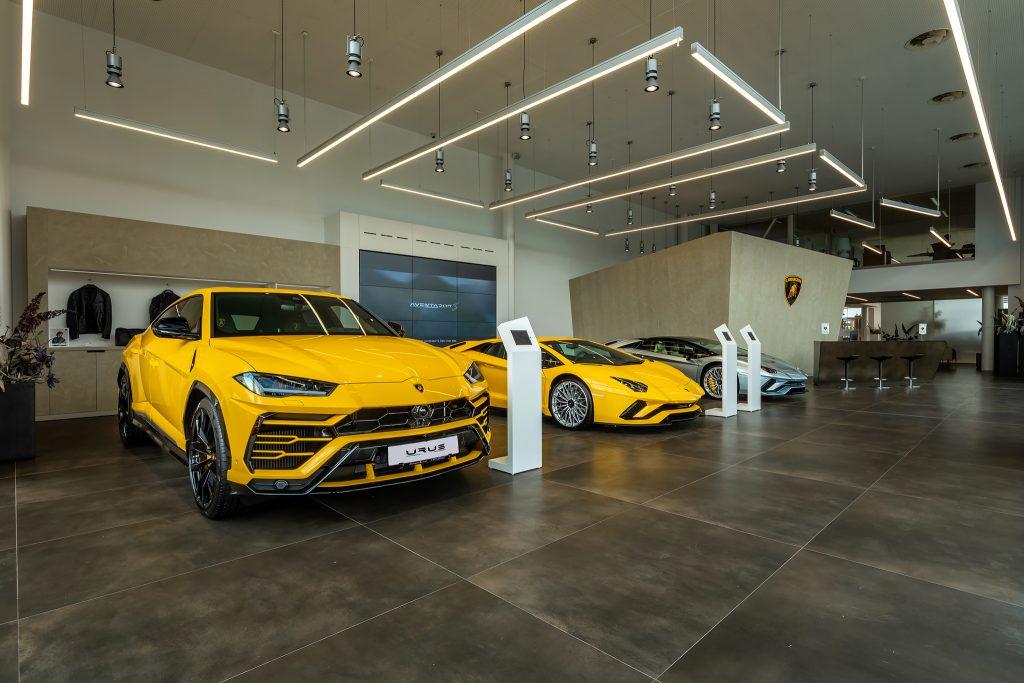Showroom-ul Lamborghini Bucuresti Foto: Florin Vitzman