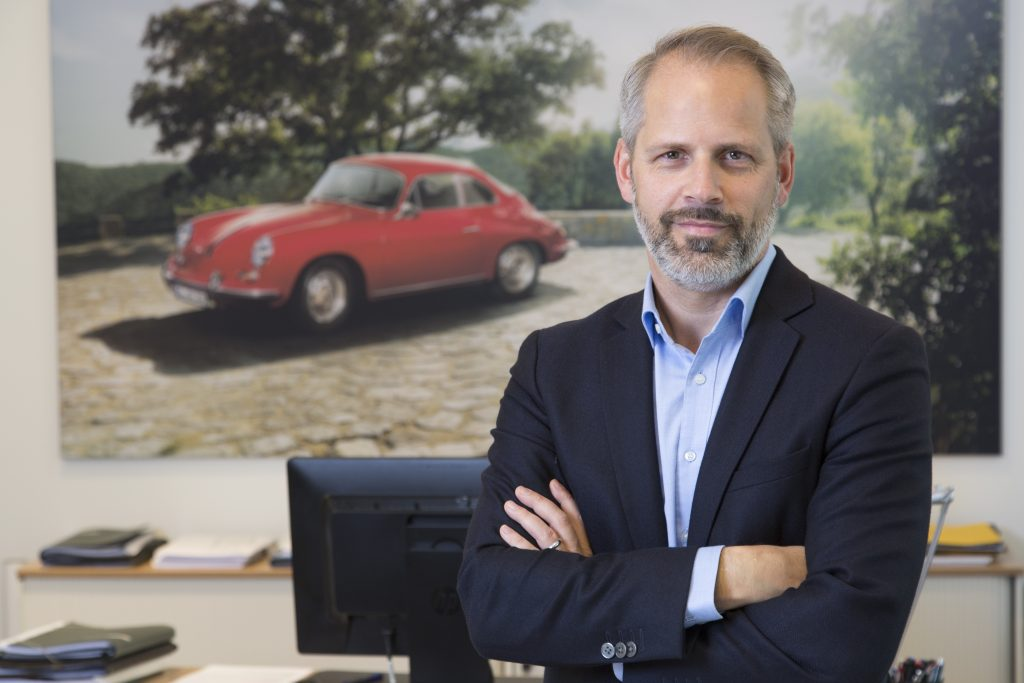 Frank Moser, Vice President Corporate Quality at Porsche AG Photo: Porsche