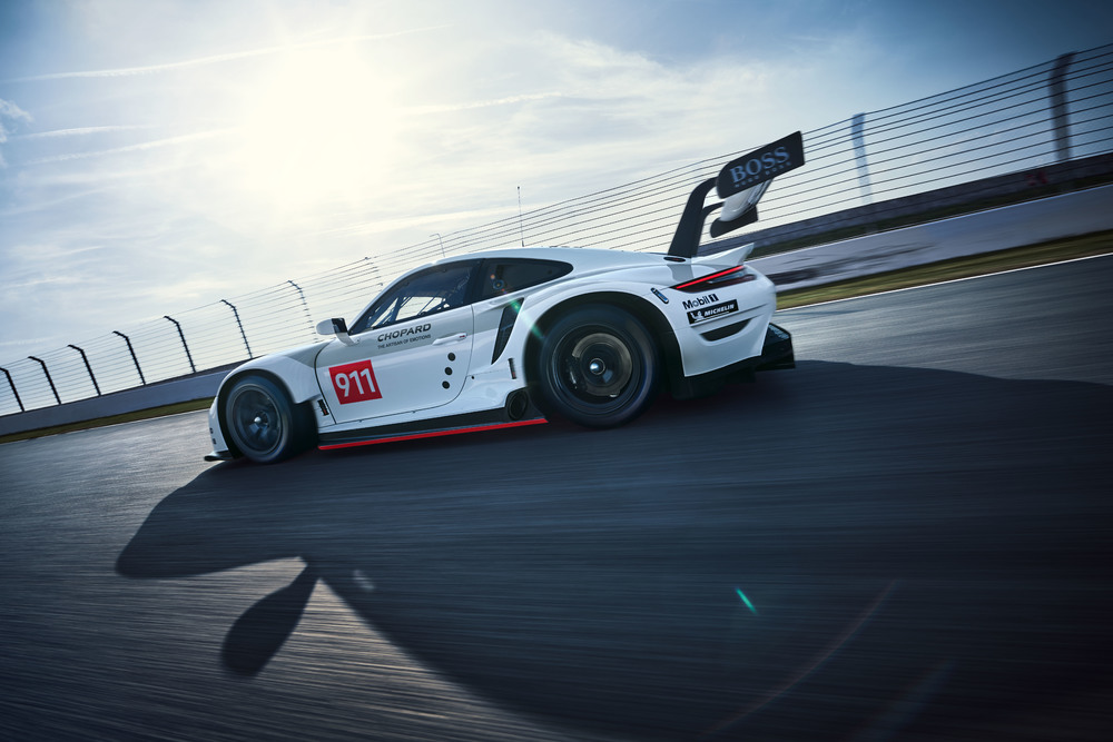 The new Porsche 911 RSR (2019) Photo: Porsche