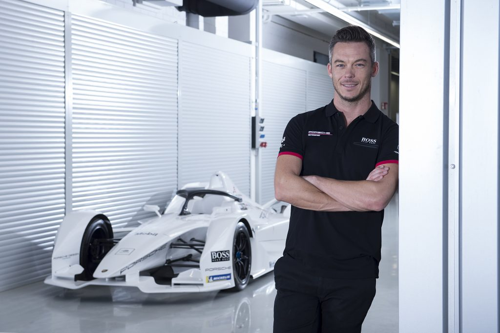 André Lotterer, Porsche Formula E Team Photo: Porsche