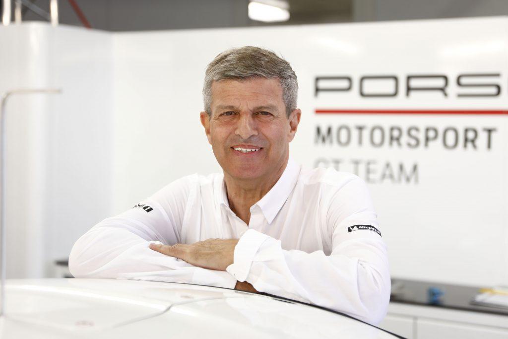 Fritz Enzinger, Vice President Porsche Motorsport Photo: Porsche