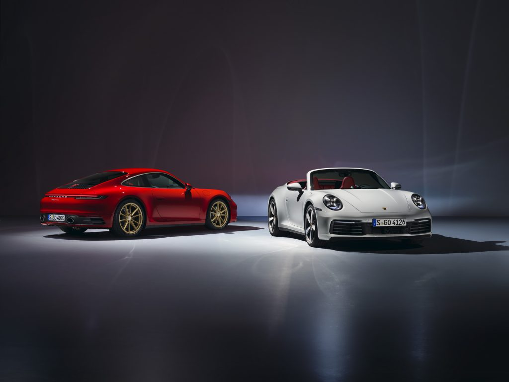 911 Carrera Coupé and 911 Carrera Cabriolet Foto: Porsche