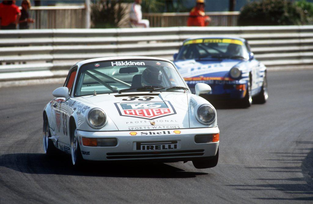 Porsche 911 Carrera 2 Cup la Supercupa din Monaco 1993 Foto: Porsche