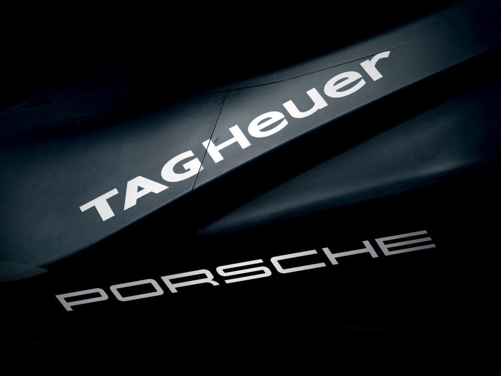 TAG Heuer și Porsche: Sneak peek Porsche Formula E car Foto: Porsche