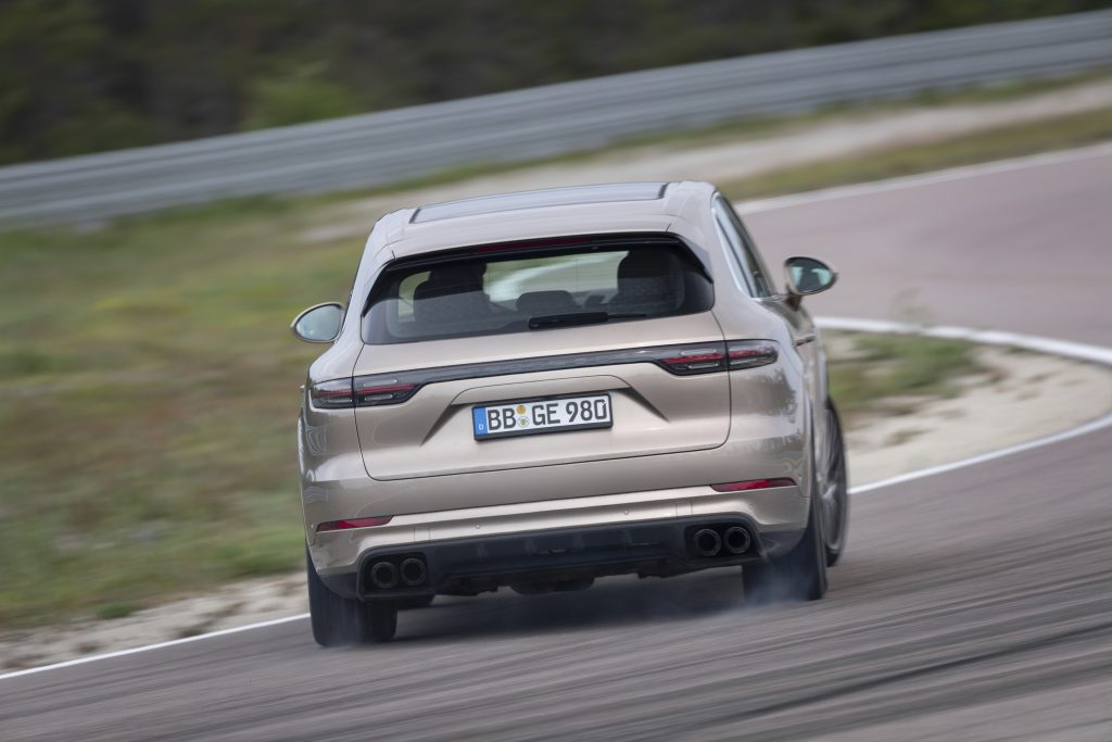 Cayenne Turbo S E-Hybrid Foto: Porsche