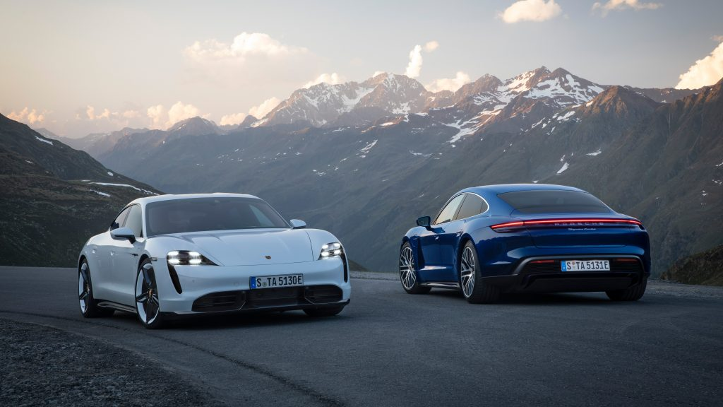 Porsche Taycan & Porsche Taycan Turbo S Photography: Christoph Bauer Postproduction: Wagnerchic – www.wagnerchic.com Source: www.newsroom.porsche.com