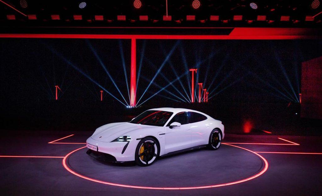 Premiera Porsche Taycan in China Foto: Porsche