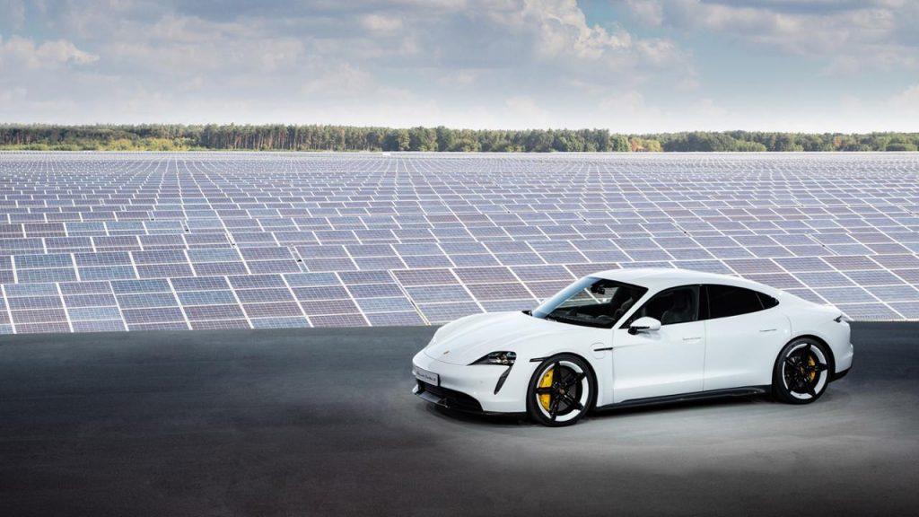 Premiera Porsche Taycan in Europa Foto: Porsche